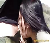 Hot latina pussy pounded by patrol guy