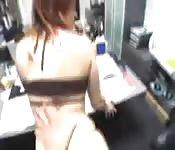 Dando la figa in ufficio