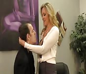 Horny couple have a stimulating session