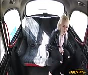 Busty Anna Rey gets bang in the backseat