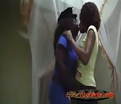 Sexy Ebony Lesbians!