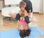 Echauffement pour le yoga