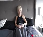 Elsa Jean and her step brother have sex