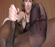 Interracial mit fetischistischem Touch
