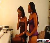 Two lesbian babes