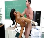 Lexi Diamante scopa l'insegnante