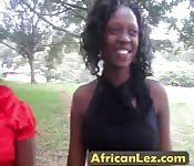Black lesbians enjoy pussy licking
