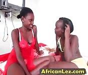 Amateur ebony lesbians