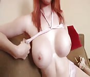 Redhead gives good head