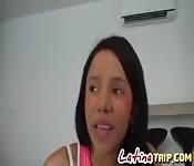 Hot Latina whore gets fucked hard