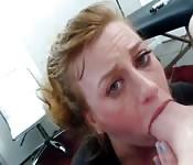 La milf arrapata scopata nella faccia