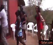 African babes are having hot orgy