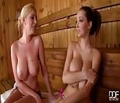 Incontro in sauna tra lesbiche