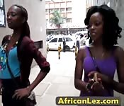 Two sexy african lesbians want to fun