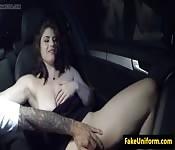 Une britannique avec de gros seins