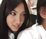 Giapponese prende cazzo in treno