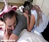 Pigiama party lesbico