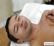 Shemale Tori enjoys hardcore anal sex