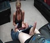 Horny Woman Likes it Deep