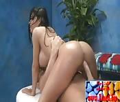 Un anale con massaggio