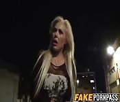Blonde hooker Aaliyah gets railed hard