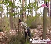 Sex im Wald mit deutscher 18 latina teen