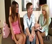 Threesome con i migliori amici