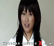 Casting video giapponese con troia asiatica