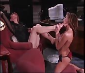 Lesbiche amano avere i piedi in bocca