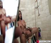Jenna Foxx get her pussy fuck doggystyle
