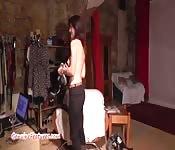 Casting erotico con moglie ceca
