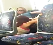 Public bus sex amateur real