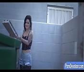 Lusty big tits woman Katrina Jade banged rough