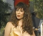 Christy Canyon shows how  to solo