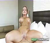 Busty Blonde Heidy Goes Nuts