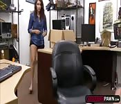 Kitty Catherine offers her pussy for easy money
