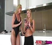 Milf Brandi Love super hot lesbian sex