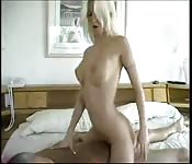 Young Blonde Fucking Old Man