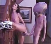 Sci Fi Porno : Baise avec un alien