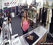 Layla London in a hardcore office fuck