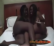 Black girls having fun!