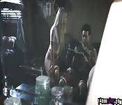 Small Hands got fuck a pussy and an ass