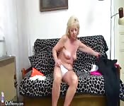 OldNanny Old mature whiped and fucked with guy