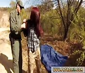 Border patrol fuck and police sex Oficer of
