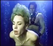 Se faire baiser sous l'eau