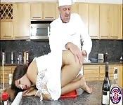 Zaya Cassidy gets her pussy creampied