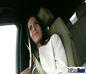 Eveline Dellai in a wild ride