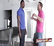 Stepdaughter and stepfather swapping