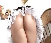 This maid needs extra cash.