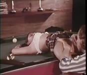 Vintage: biliardo e scopata
